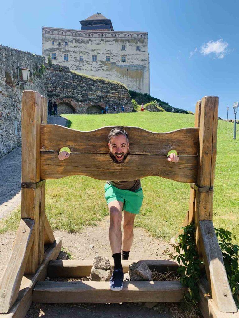 Najkrajšie miesta Slovenska –  Trenčiansky hrad