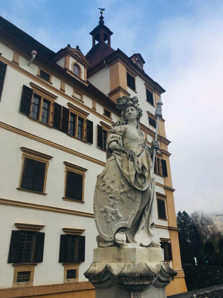 Zámok Schloss Eggenberg pri Grazi