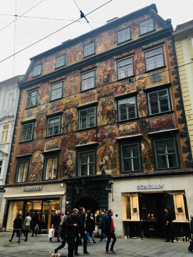 V uliciach Grazu