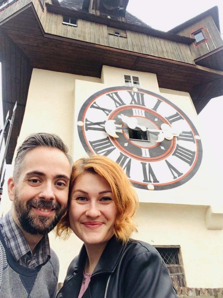 Pri hodinovej veži, Graz