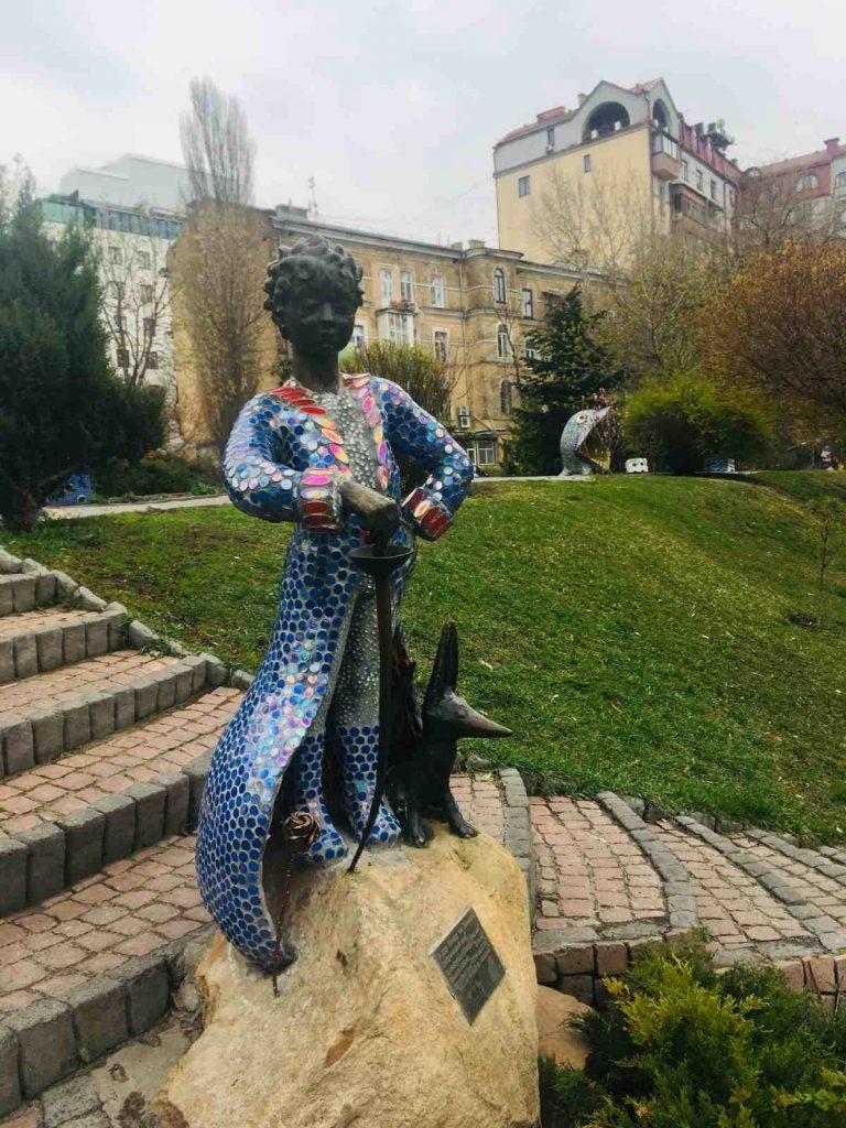 Malý princ v Aleji sôch, Kyjev