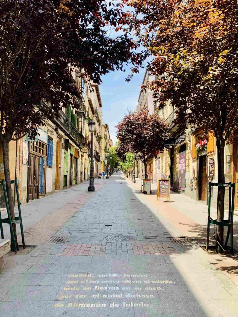 Calle Huertas, Madrid