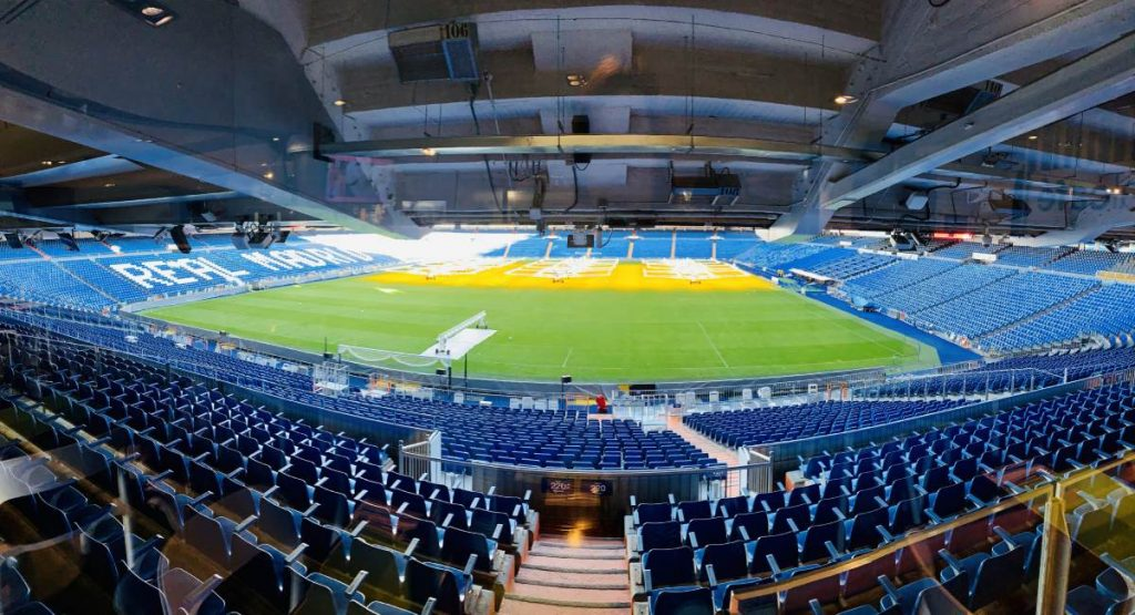 Štadión Realu Madrid – Santiago Bernabéu