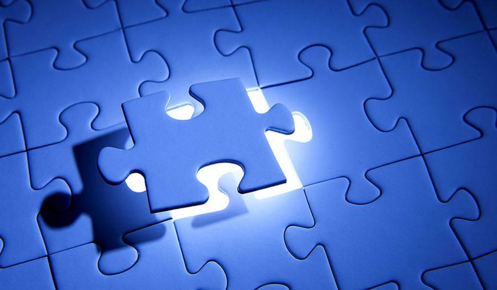 Trieda ako puzzle