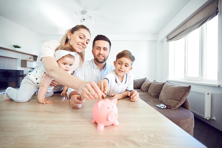 Peniaze, rodina avýchova detí