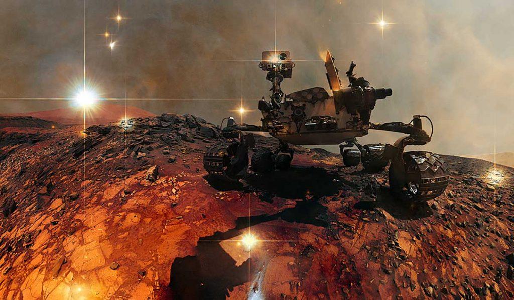 Blúdenie po Marse