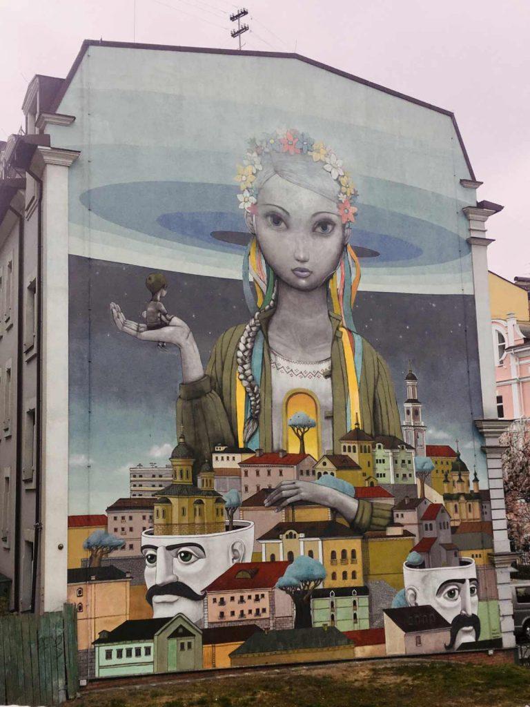 Graffiti na Andrejevského svahu, Kyjev