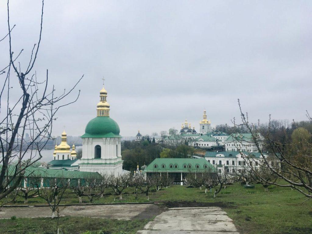 Kláštor Kyjevsko-pečevská lavra v Kyjeve je zapísaný v UNESCO