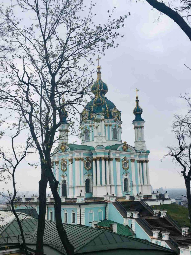 Chrám svätého Ondreja, Kyjev