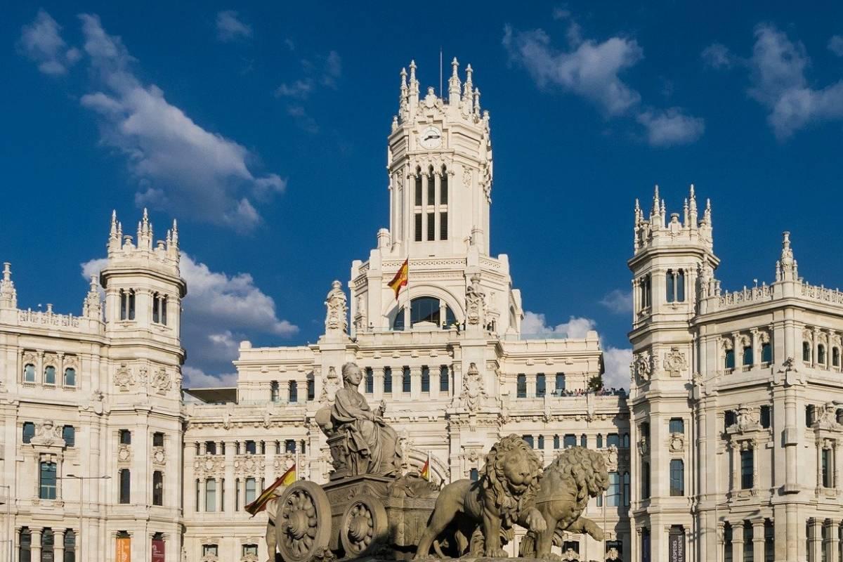 Online návšteva zo Španielska na hodine geografie
