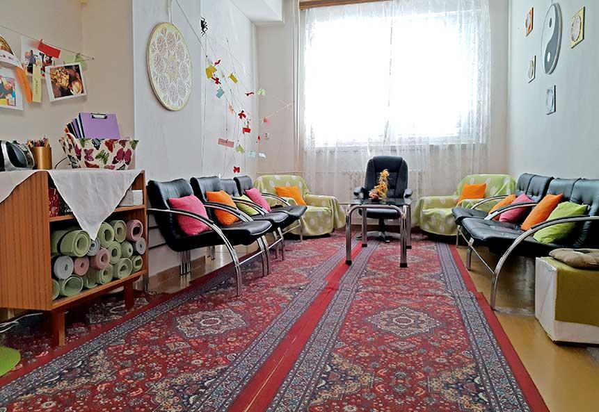 Máme relaxačnú miestnosť